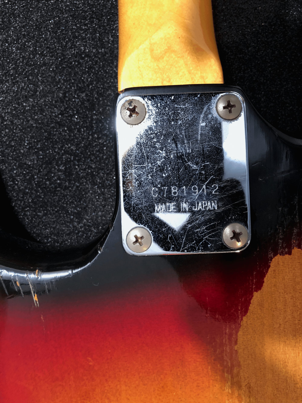 Serial Number of Greco SE500 Stratocaster
